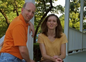 Your Hosts at Waypoint House - Rachael and Jonathan Worsley