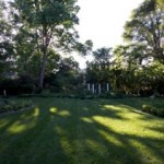 The back garden at Waypoint House