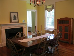 Freshly Painted Dining Room, Waypoint House
