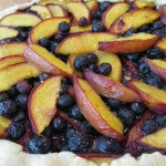 Blueberry and Nectarine Crostada
