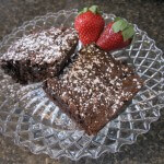 Fresh brownies - There's always a special treat waiting in your room upon arrival at Waypoint House B+B!