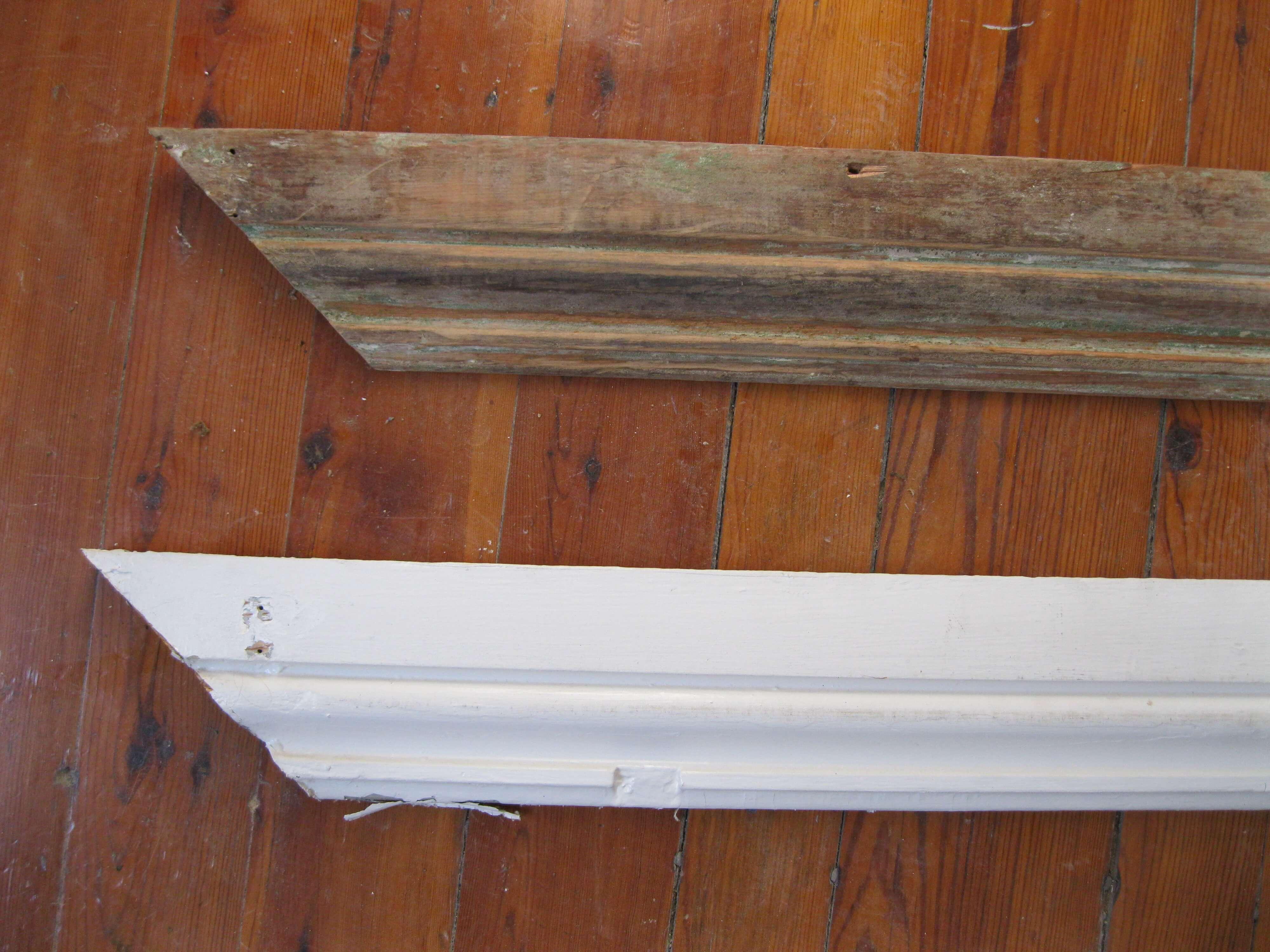 Restoring the Window Molding