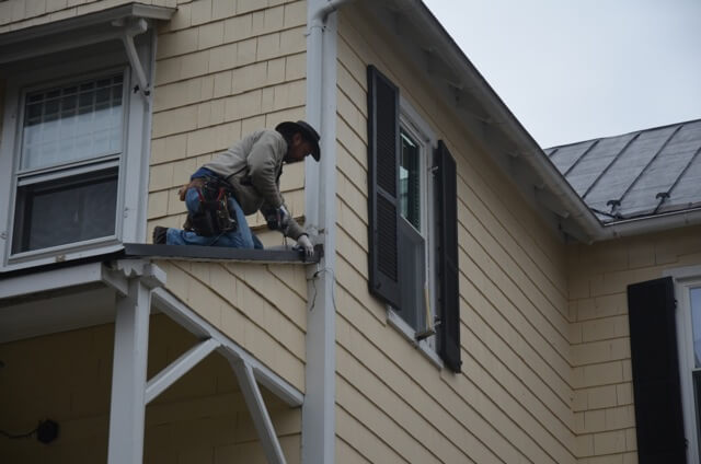 New porch roof going on!