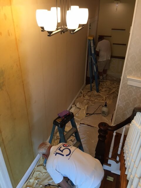 Bringing Down the Old Wallpaper