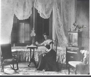 Nannie in the Parlor
