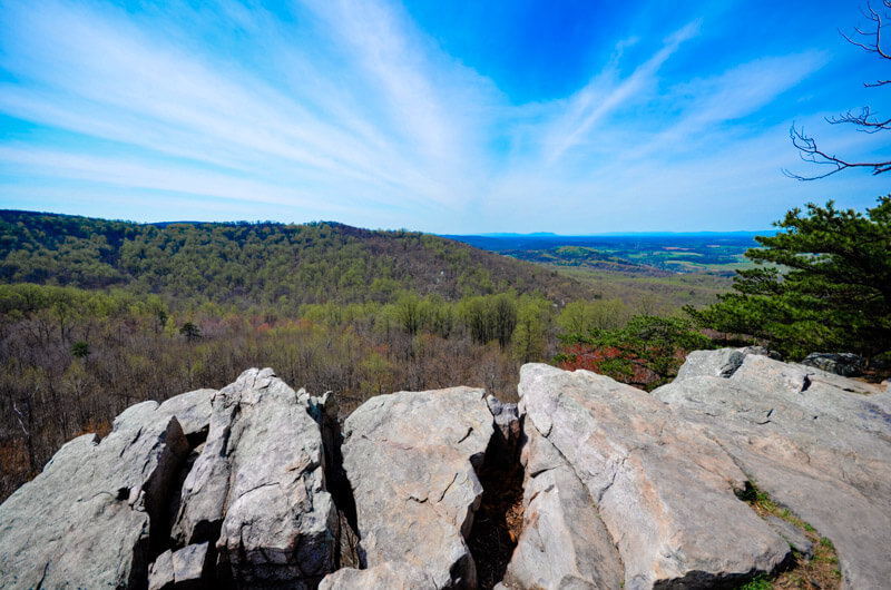 The view from Raven Rock - Part of the Appalachian Trail.
