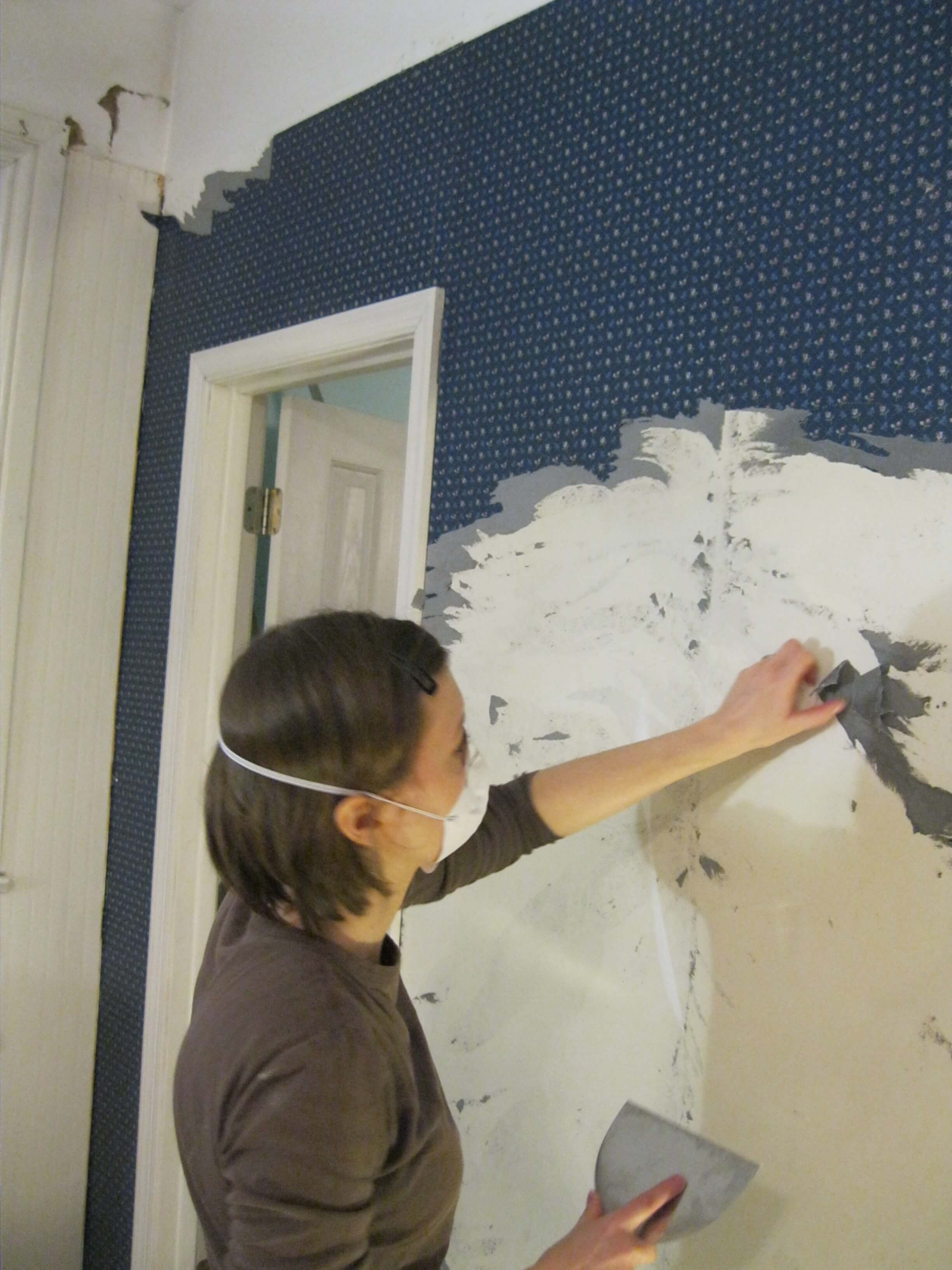 Removing Wall Paper