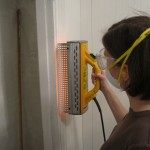 Using the Infrared Heat Gun to Remove Paint