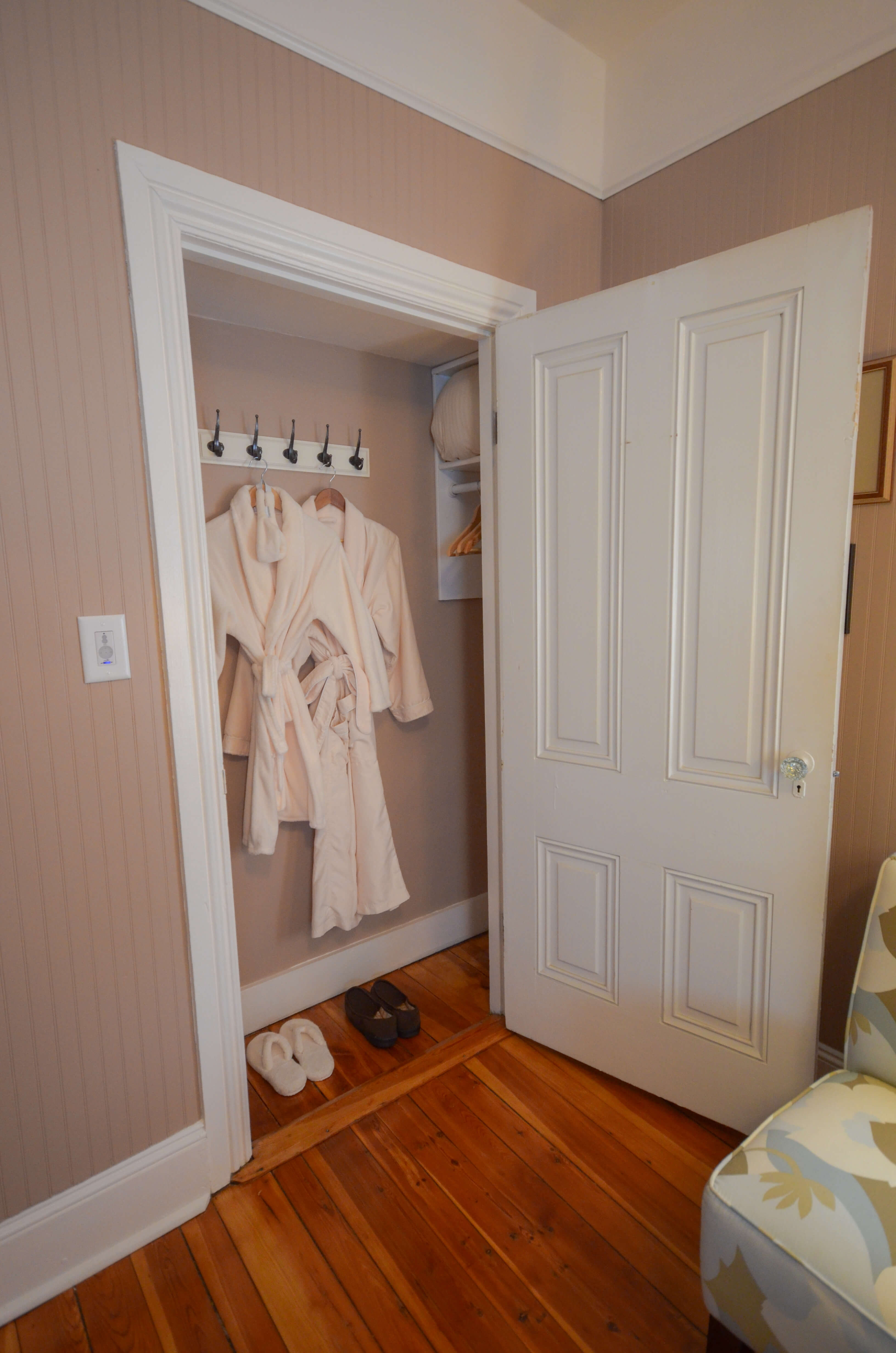 Plush bathrobes in each room - Waypoint House B+B