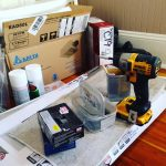 Tools and supplies. Ready to renovate!