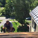 Roof Work at Waypoint House