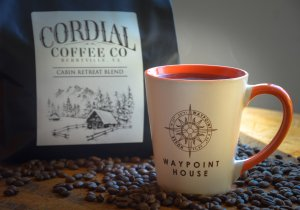 Cordial Coffee Wake Up Package at Waypoint House B+B